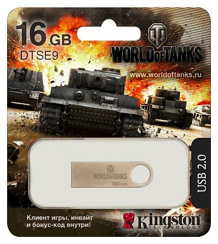 Kingston 16GB DT SE9 World of Tanks