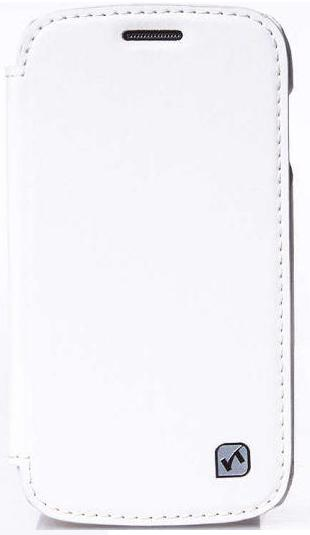 Melkco Jacka leather case for Samsung S6102 Galaxy Y DuoS white (SS6102LCJT1WELС)