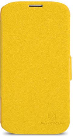 Nillkin Samsung G900/S-5 - Fresh Series Leather Case yellow