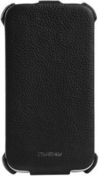 Nuoku ROYAL luxury leather case for HTC Sensation XL black