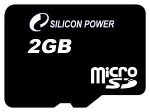 Карта памяти Silicon Power microSD 2Gb