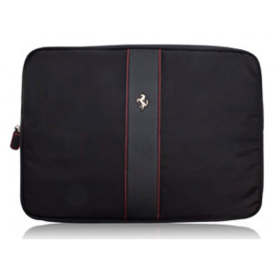 Сумка для ноутбука Ferrari with metal logo 15 black (FECOLV3B)
