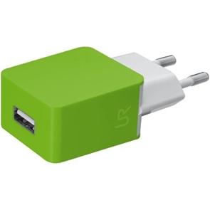 СЗУ Urban Revolt Smart Wall Charger 2 USB 1 А lime