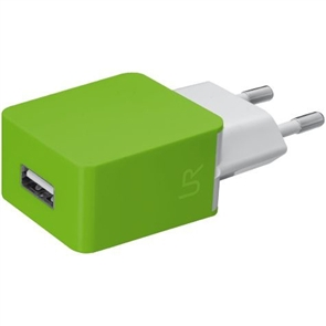 СЗУ Urban Revolt Smart Wall Charger 2 USB 1 А lime