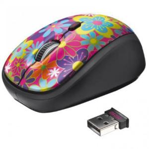 Trust Yvi Wireless Mouse flower power (20250)