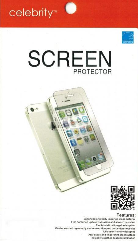 Защитная пленка Celebrity для HTC Desire 200 clear