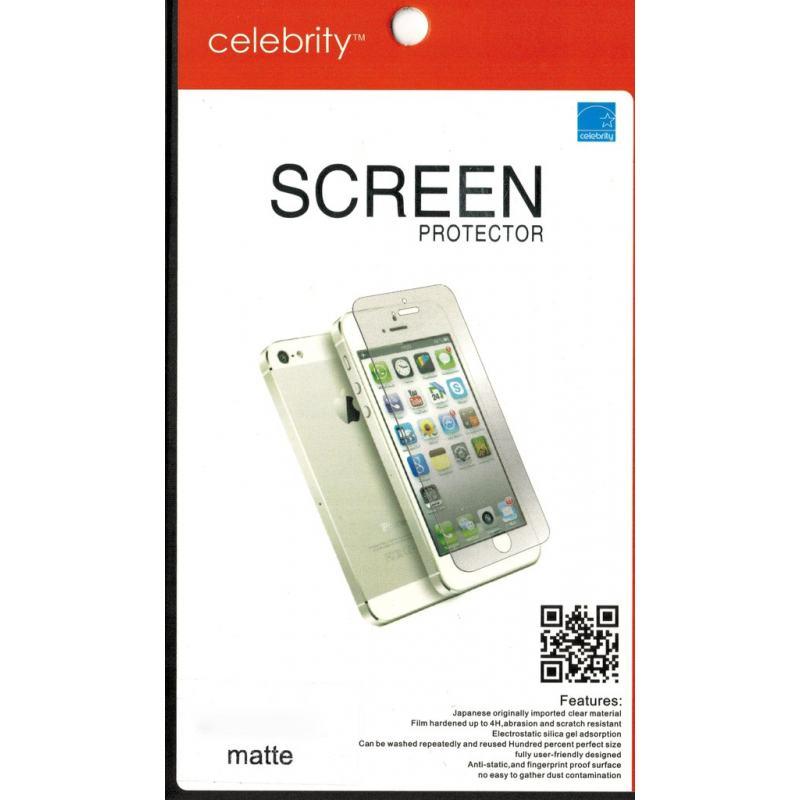Защитная пленка Celebrity для iPhone 5 2в1 matte