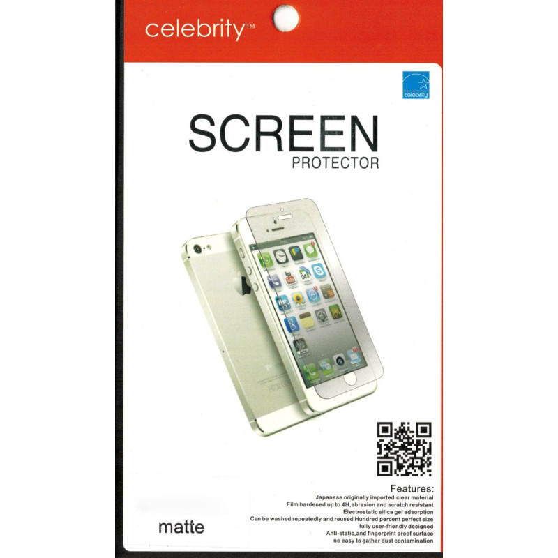 Защитная пленка Celebrity для Sony L36h Xperia Z matte