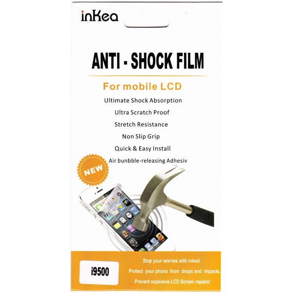 Защитная пленка inKea Anti-shock Film для Samsung N7100 Note2