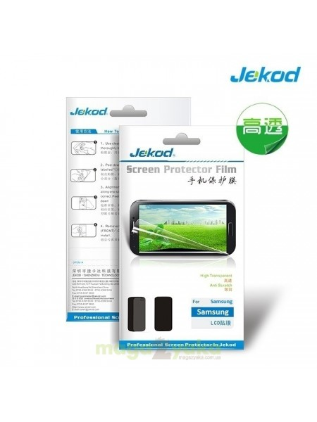 Защитная пленка Jekod Screen Protector for Apple iPhone 5 - Anti Scratch Front+black