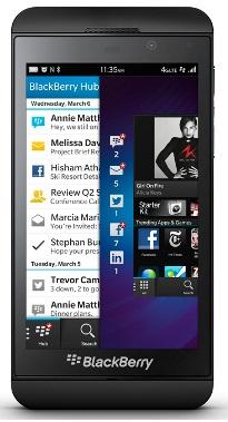 Blackberry Z10 black STL100-3