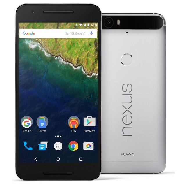 Смартфон Huawei Nexus 6P 32Gb silver