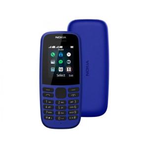 Мобильный телефон Nokia 105 Single Sim 2019 blue (16KIGL01A13) (UA)