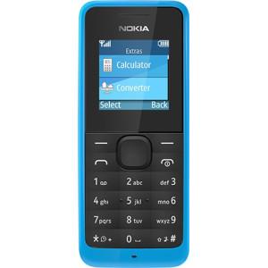 Мобильный телефон Nokia 105 cyan (A00010804) UA