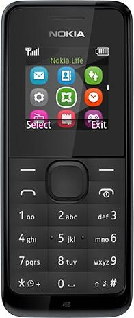 Мобильный телефон Nokia 105 black (A00010803) UA