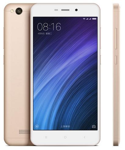 Смартфон Xiaomi Redmi 4A 2/16GB gold