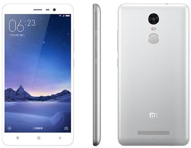 Xiaomi Redmi Note 3 3/32GB silver