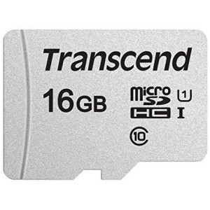 Карта памяти TRANSCEND microSDHC 300S 16GB UHS-I U1 no ad