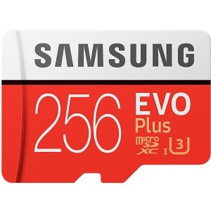 Карта памяти SAMSUNG microSDXC 256GB EVO Plus UHS-I (MB-MC256HA/RU)