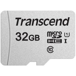 Карта памяти TRANSCEND microSDHC 300S 32GB UHS-I U1 no ad