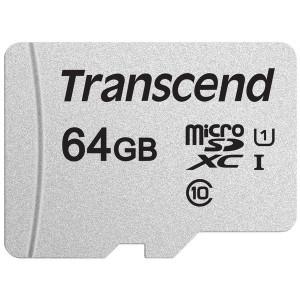 Карта памяти TRANSCEND microSDXC 300S 64GB UHS-I U1 no ad