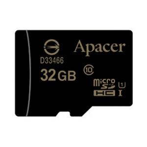 Карта памяти Apacer 32 GB microSDHC Class 10 UHS-I + SD adapter AP32GMCSH10U1-R