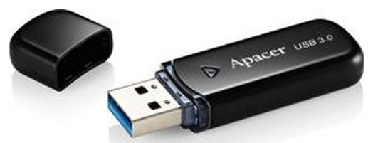 APACER AH355 64GB USB3.0 Черный