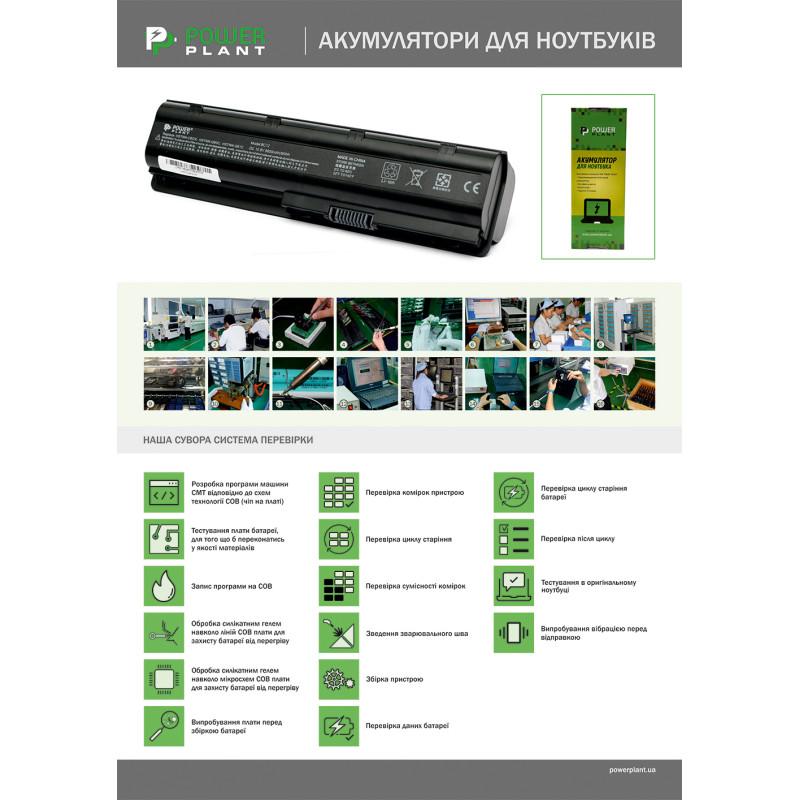 Аккумулятор PowerPlant для ноутбуков HP Pavilion DV7 (HSTNN-DB75) 14.4V 5200mAh