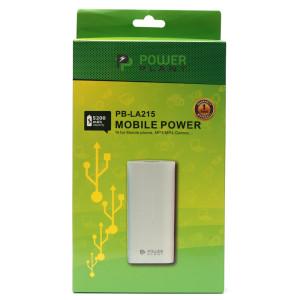 Универсальная мобильная батарея PowerPlant/PB-LA215/5200mAh/