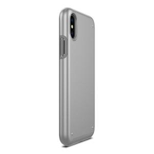 Чехол Patchworks Chroma для iPhone X, серебристый