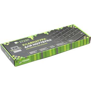 Клавиатура для ноутбука DELL Inspiron N5010 черный, черный фрейм (big Enter)
