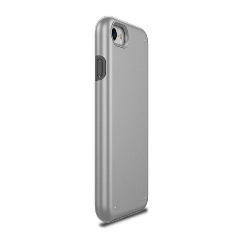 Чехол Patchworks Chroma для iPhone 8 / 7, серебристый