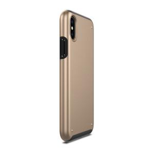 Чехол Patchworks Chroma для iPhone X, золотой