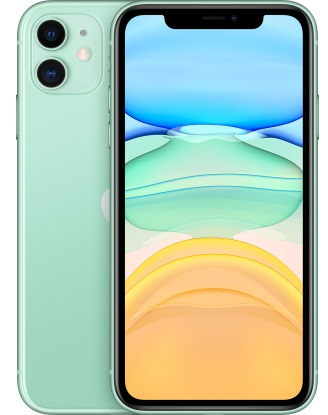 Смартфон Apple iPhone 11 128GB Dual Sim green (MWNE2)