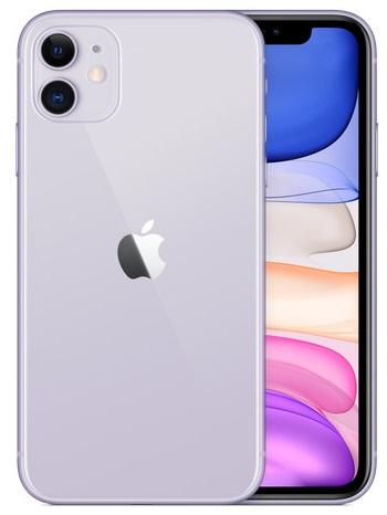 Смартфон Apple iPhone 11 64GB purple (MWLC2) Slim box