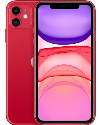 Смартфон Apple iPhone 11 64GB Product red (MWN92)