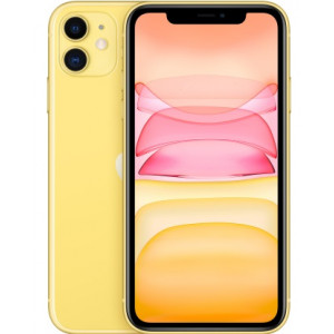 Смартфон Apple iPhone 11 64GB Slim Box yellow (MHDE3)