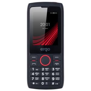 Мобильный телефон Ergo F247 Flash Dual Sim black