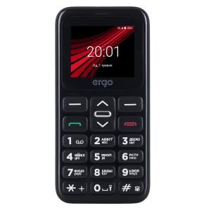 Мобильный телефон ERGO F186 Solace Dual Sim black