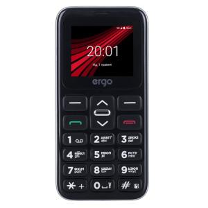 Мобильный телефон ERGO F186 Solace Dual Sim grey