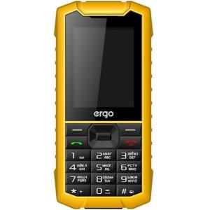 Мобильный телефон Ergo F245 Strength Dual Sim yellow/black (UA)