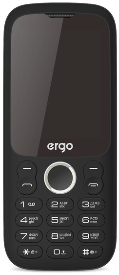 Ergo F242 Turbo Dual Sim black (UA)