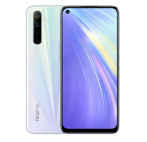 Смартфон realme 7 8/128GB white (EU)