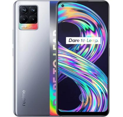 Смартфон realme 8 6/128GB Cyber silver (EU)