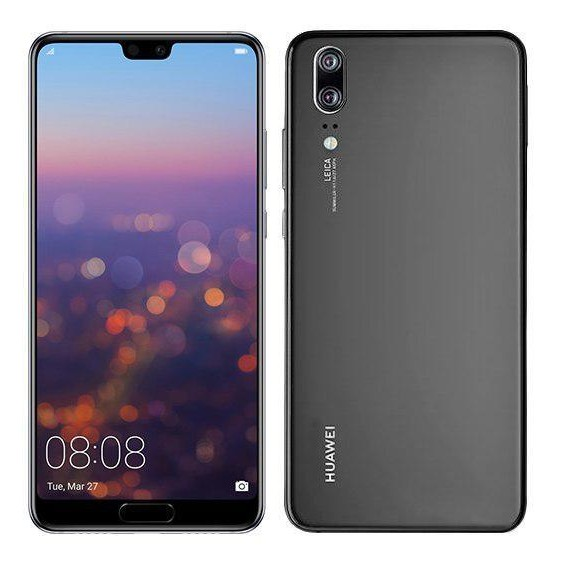 Huawei P20 4/128GB Single Sim black