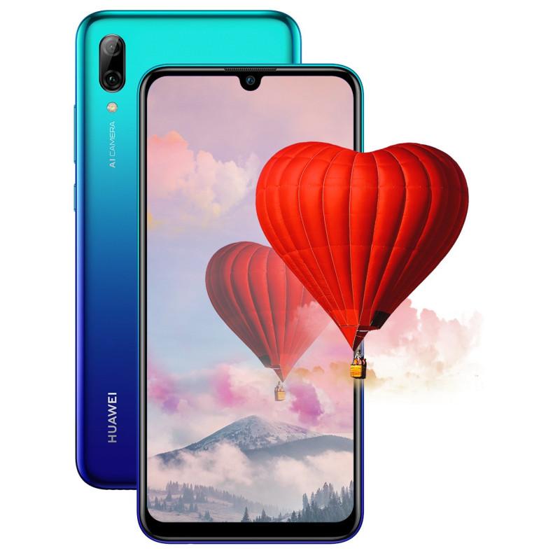 Смартфон Huawei P smart 2019 3/64GB aurora blue (51093FTA)