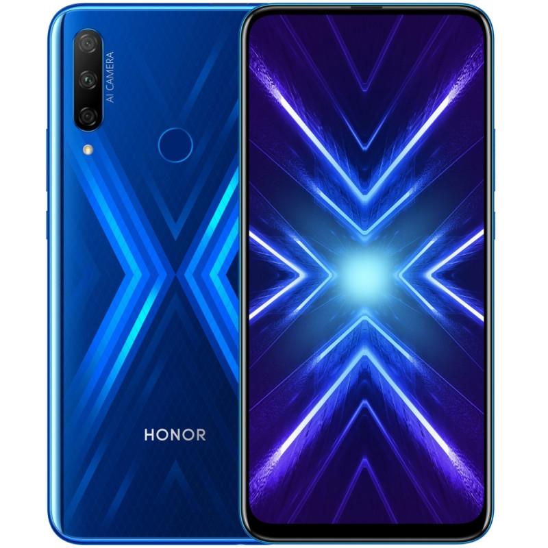 Смартфон Honor 9x 4/128GB Sapphire blue (EU)