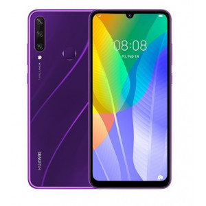 Смартфон Huawei Y6p 3/64GB Phantom Purple (51095KYT) (UA)