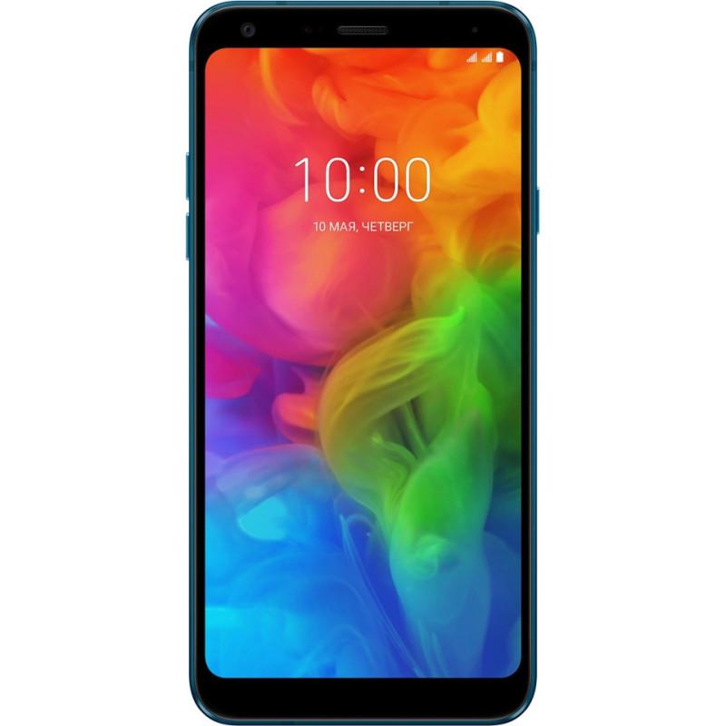 LG Q7 3/32Gb blue (LMQ610NM.ACISBL)