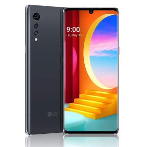 Смартфон LG Velvet 6/128Gb Aurora Gray LM-G910 black (EU)